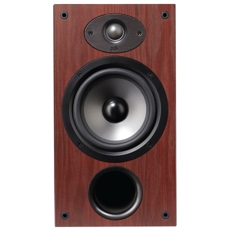 Polk Audio TSx220B bookshelf home theater speaker front view