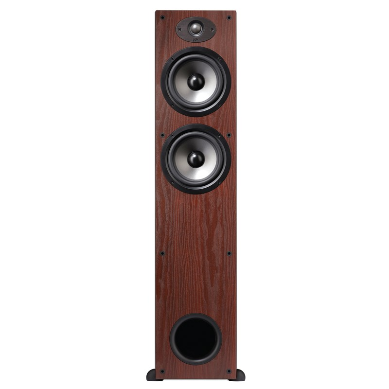 Polk Audio TSx330 floor standing home theater speakers front view