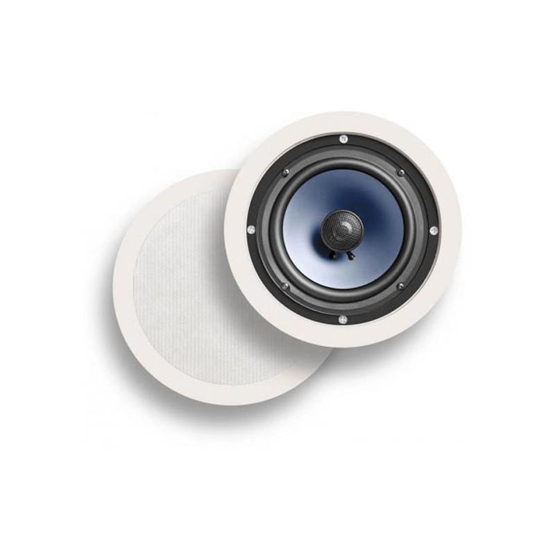 Polk Audio RC60i hidden in ceiling speakers white