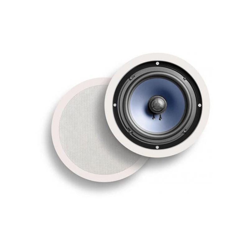 Polk audio RC80i hidden in ceiling speakers white