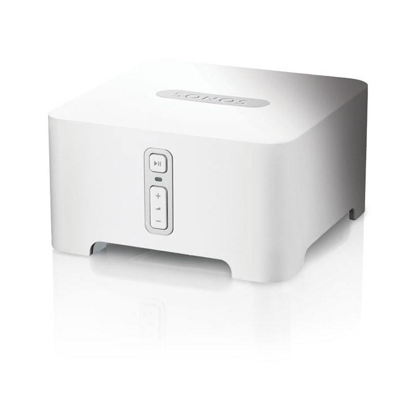 Sonos connect amplifier white front view