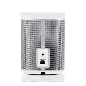 Sonos play 1 speaker white rear back view