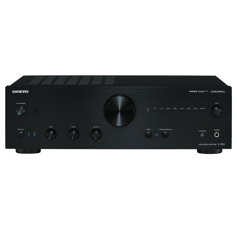 ONKYO A-9050 Stereo Amps home theater amplifier front view