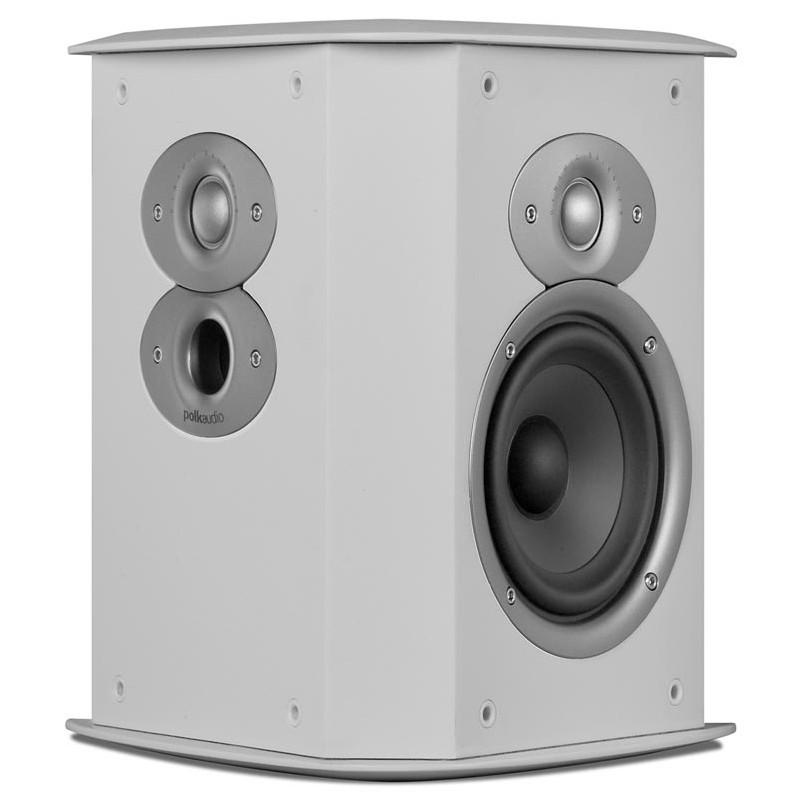 Polk Audio Fxi A4 surround sound home theater speakers white