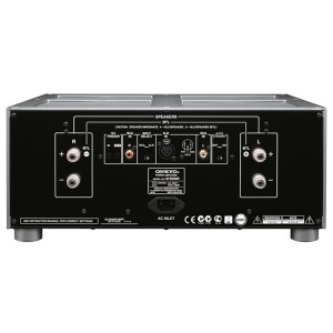 ONKYO M-5000R Stereo Amps rear back view