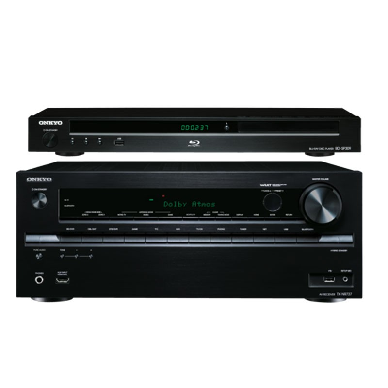 Onkyo combo deal 4 Home theater amplifier receiver