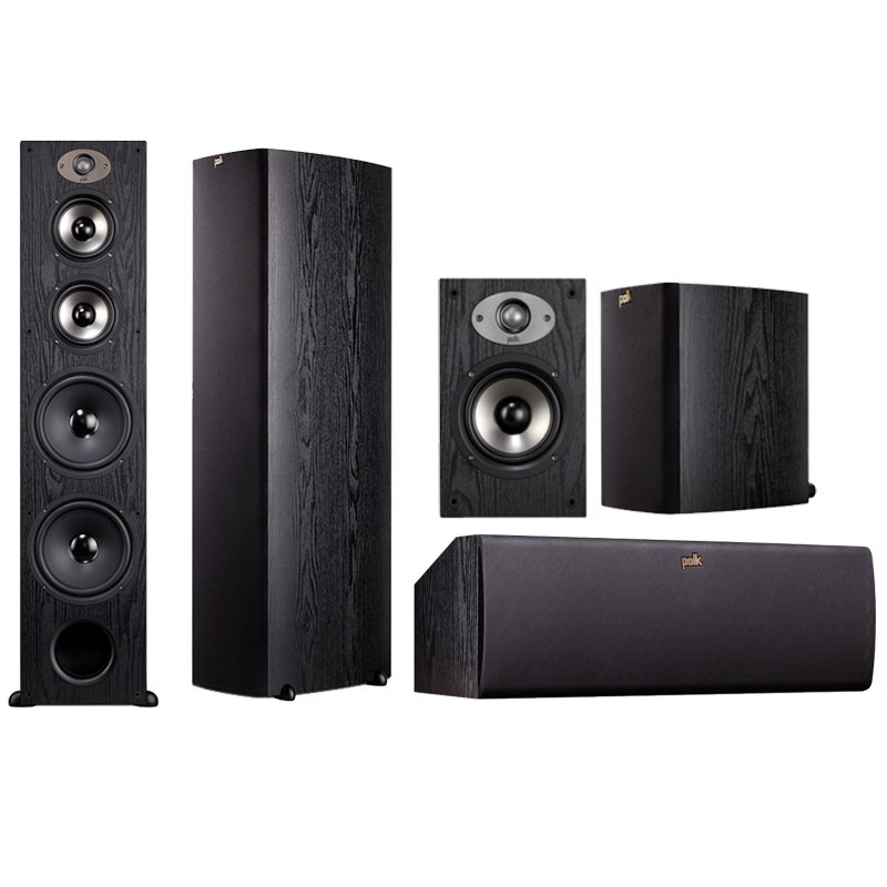 Polk Audio tsx550 speakers package home theater