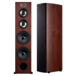 VA Package 4 home theater speakers TSX550T cherry wood