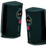 Dali Fazon Mikro Speakers pair rear view back view