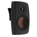 Dali Satelite speaker wall mounted black 27 front view