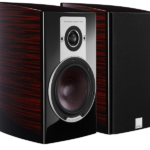 Dali Epicon speakers pair front view side view