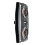 Dali fazon lcr black speakers side view
