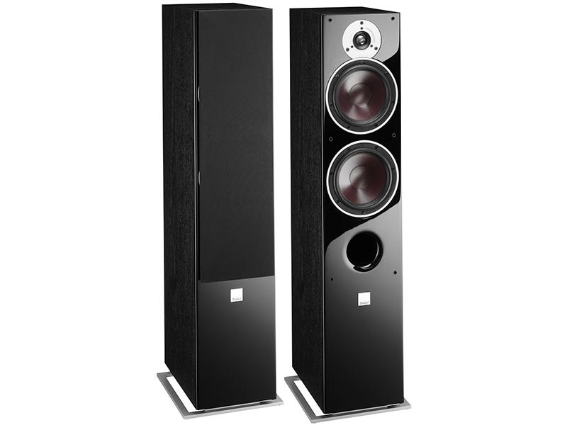 Dali zensor 7 speakers pair front view